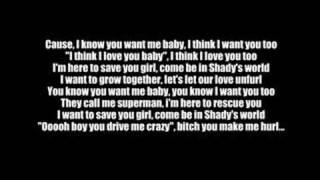 Repeat youtube video Eminem - Superman with lyrics