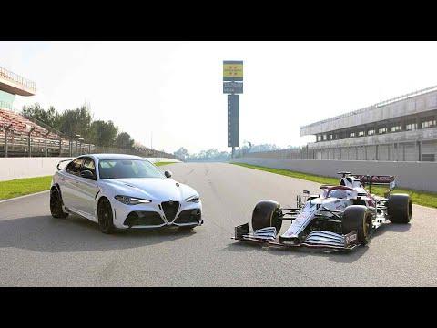 Alfa Romeo Giulia GTA - Kimi Raikkonen ed Antonio Giovinazzi