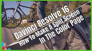 Davinci Resolve 16 How to make and fix a split screen in the color page fast and easy