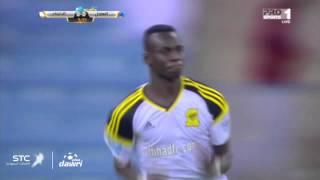 هدف الاتحاد الأول ضد الهلال في الجولة ال18 من دوري عبد اللطيف جميل