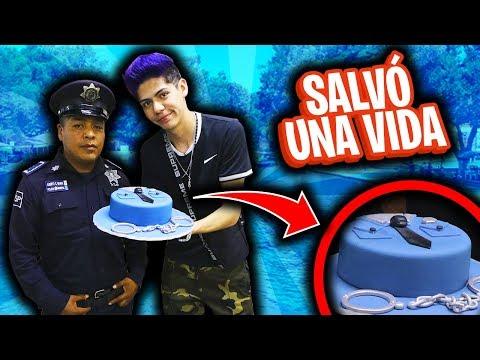 ¡¡SORPRESA A un POLICÍA que SALVÓ UNA VIDA!! - [ANTRAX] ☣