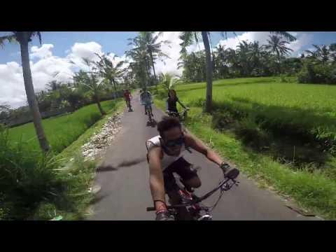 cycling at kintamani bali 2017