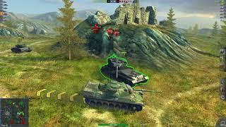 WoT Blitz Leopard 1 4.6K 4 kills