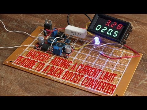 HACKED!: Adding a Current Limit Feature to a Buck/Boost Converter
