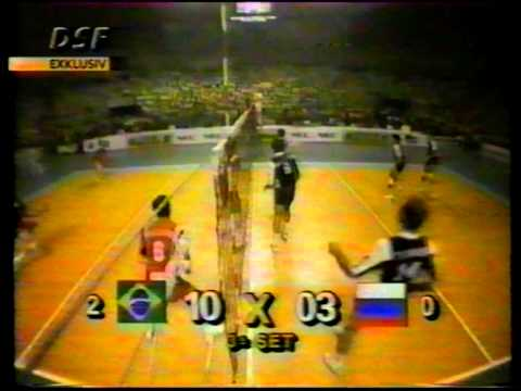 1993 FIVB World League BRA - RUS set 3