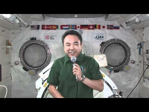 Station Crew Member Discusses Life in Space with Elderly Japanese Citizens