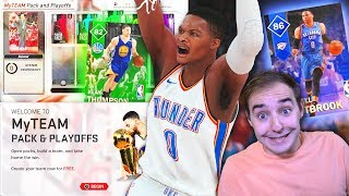 NBA 2K18 My Team PACK N PLAYOFFS! WESTBROOK IS TOO NICE! BUT WAIT A MINUTE!!!
