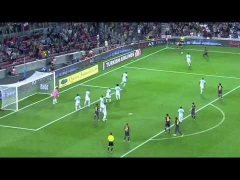 Barcelona vs Granada 2-0 Highlights Liga BBVA 22/09/2012