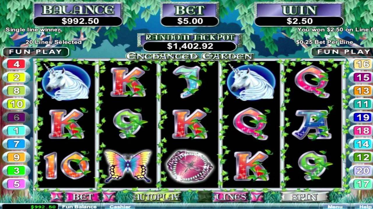 Spiele Enchanted Garden II - Video Slots Online