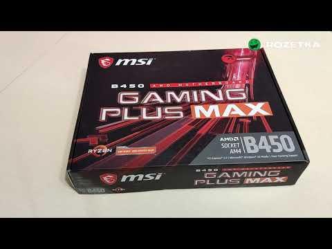Материнська плата MSI B450 Gaming Plus Max (sAM4, AMD B450, PCI-Ex16)