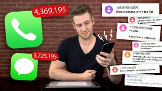 I Gave my PHONE NUMBER to 5 MILLION PEOPLE For Drawing Requests!??