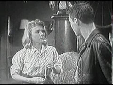 Inger Stevens & Paul Newman in