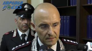 """Operazione """"Ariete"""", sgominata dai carabinieri la banda che ha terrorizzato il Mandamento"""