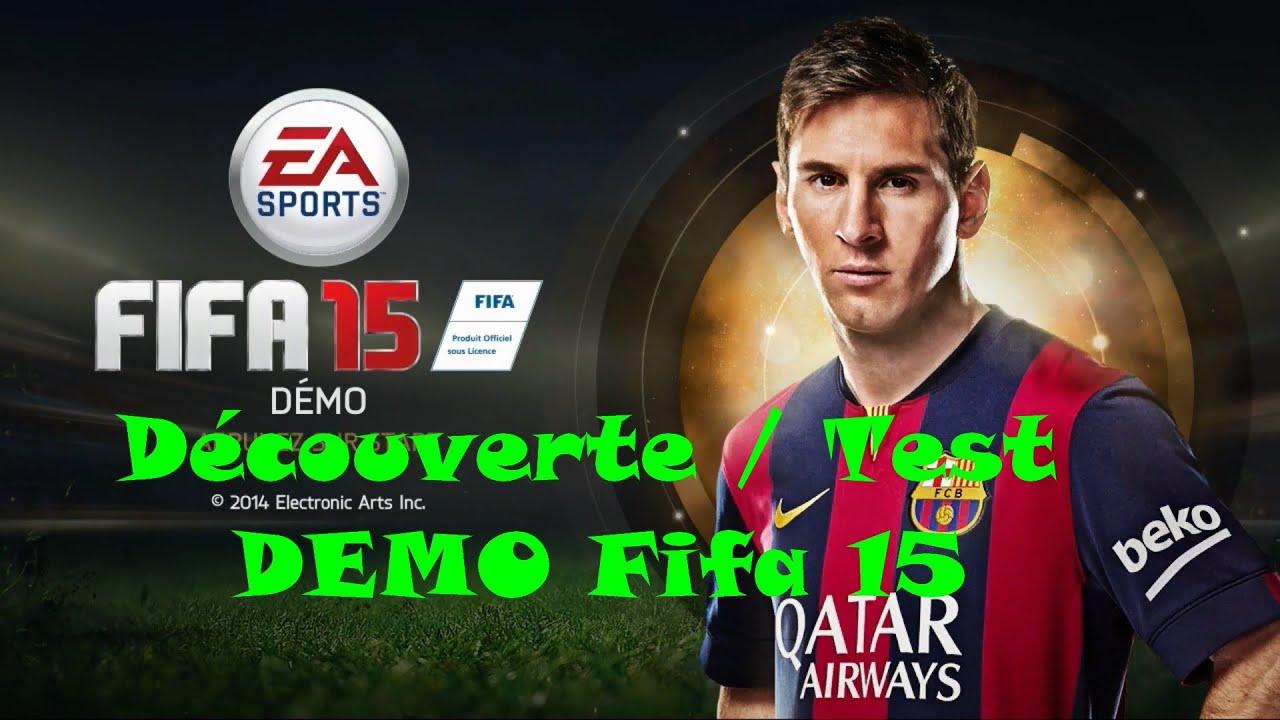 fifa 15 demo d u00e9couverte    test gameplay match barcelone