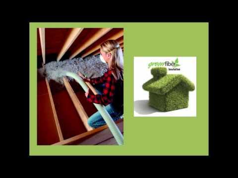 Green fiber insulation commercial