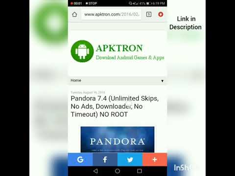 pandora unlimited skips download songs