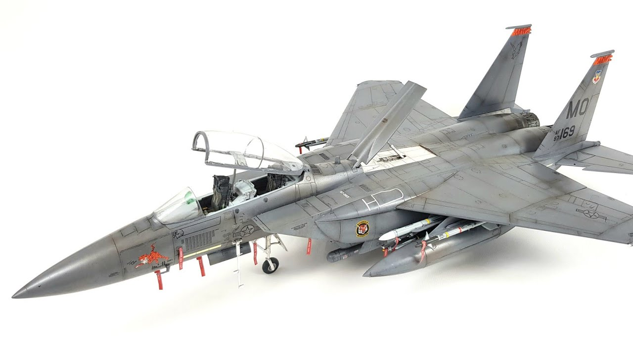 RVM5870 F-15C Eagle Revell Monogram 1:48