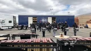 Milton Indoor Drumline | 2018 Snare Break