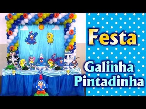 Party Decoration Theme Lottie Dottie Chicken for boys - Children's Birthday - Party Kids / Ideas