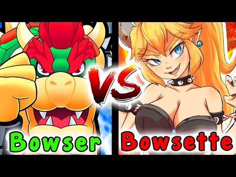 Should BOWSETTE Be The Main VILLIAN/BOSS? - Super Mario Odyssey Versus