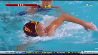 Women's Water Polo Highlights 4/22/18: USC-11, UCLA-5
