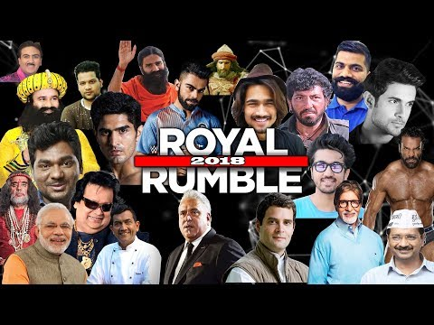 WWE 2K18 INDIAN Royal Rumble 2018