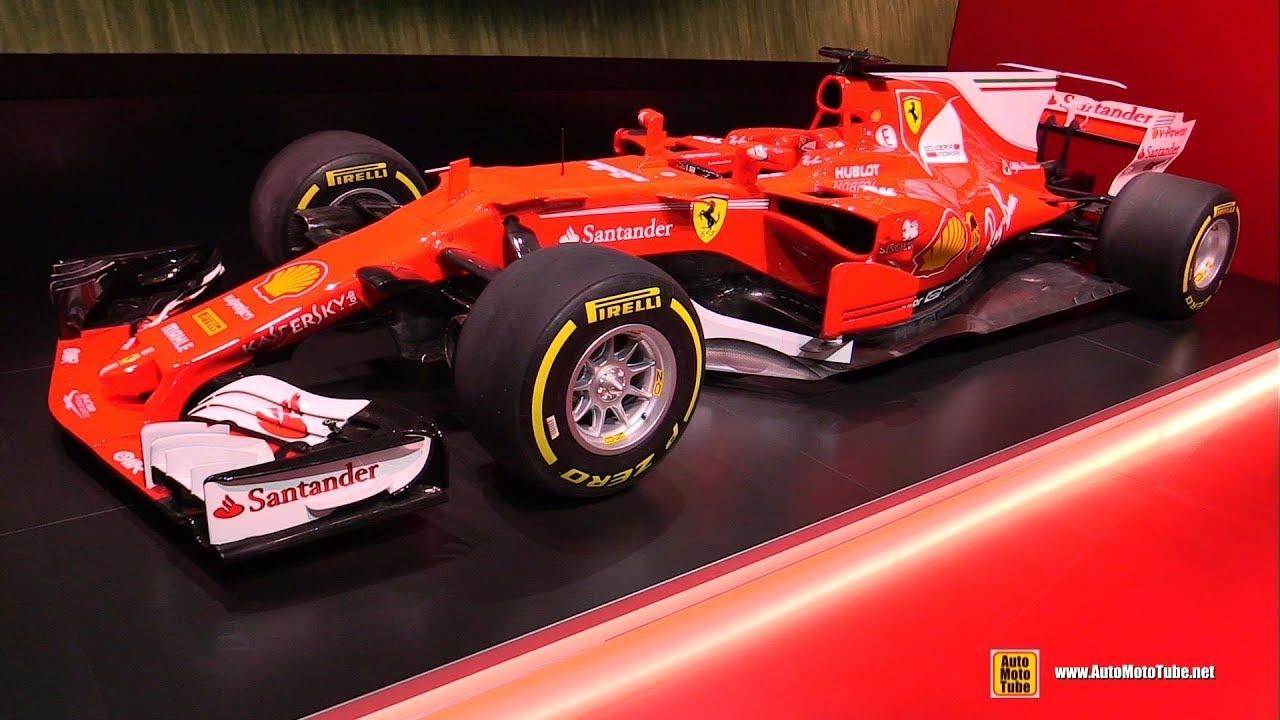 2017 Ferrari F1 Race Car Walkaround Ferrari Stand At 2017 Frankfurt Auto Show Youtube