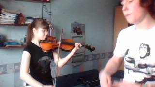 Битбокс и скрипка