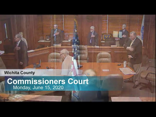 Commissioners Court 06/15/2020