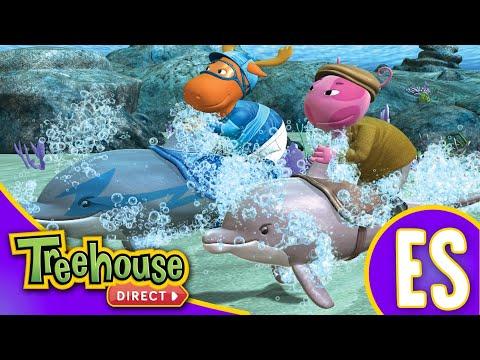 Los Backyardigans: La Carrera de Los Delfines - Ep.53