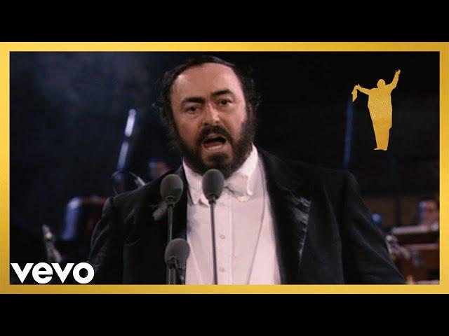 "Luciano Pavarotti sings ""Nessun dorma"" from Turandot (The Three Tenors Original Concert..."