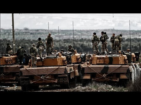 Turkish Army in Afrin - Operation Olive Branch