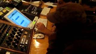 "Dion BLAST! getting his song ""EVERYDAY IS CHRISTMAS"" Mastered by Gil Tamazyan"