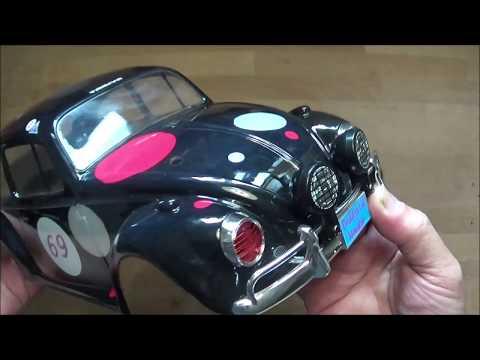 Tamiya VW Beetle Rally Cockpit in More Detail