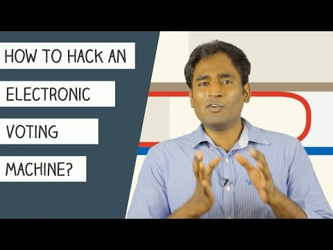 How to hack an Electronic Voting Machine?