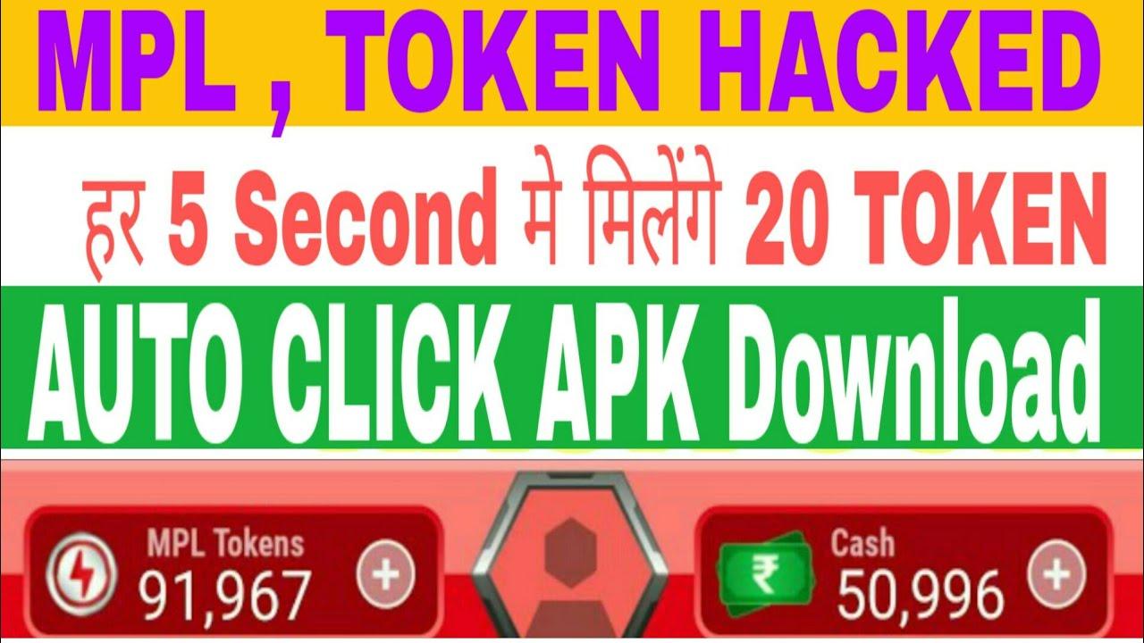 MPL , TOKEN HaCKED  Auto Click Apk download