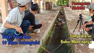NEKAT!! Mancing Di Spot Angker Ikan Melimpah Sampai PENUNGGUNYA NGAMUK!!