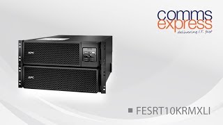 APC Smart-UPS SRT10KRMXLI 10000VA RM 230V