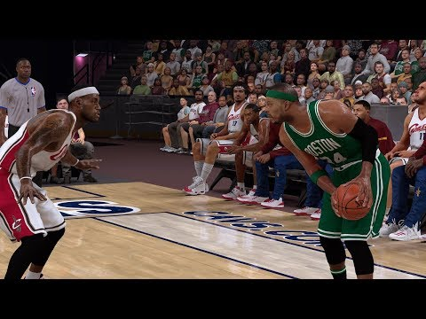 🏀 2004 CELTICS vs CAVS | NBA 2K17
