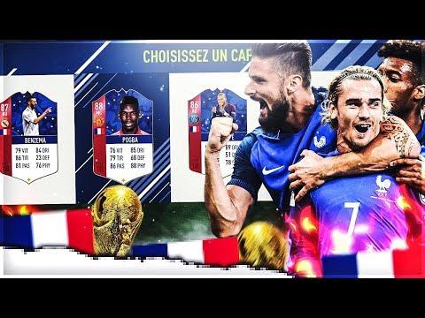 FUT 18 | LA DRAFT DE L' EQUIPE DE FRANCE !!