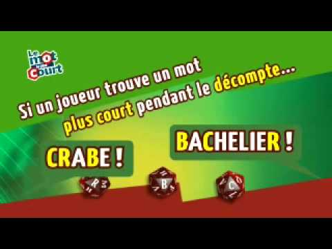 Le mot le plus court - Cocktail Games