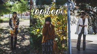 Summer To Autumn Lookbook // Styling Summer Clothing For Fall