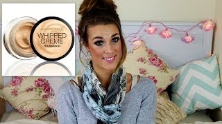 One of Ellie Dalton's most viewed videos: First Impression, Review, Demo! - Max Factor Whipped Creme Foundation