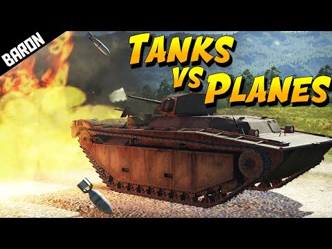 TANKS vs PLANES!  Road of the Brave! (War Thunder Gameplay)