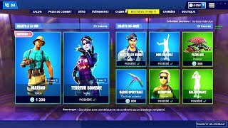 BOUTIQUE FORTNITE du 13 Mars 2019 ! ITEM SHOP March 13 2019 !