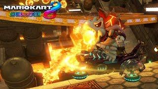 MARIO KART 8 DELUXE: ¡LA COMBINACIÓN INFERNAL DE BOWSITOS! | Nintendo Switch