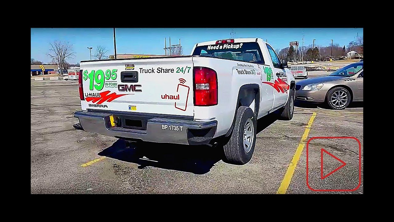 d01ecb17fd U-Haul Pickup Truck - 2018 GMC Sierra - YouTube