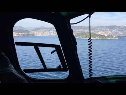 Heli Air Monaco flight Nice - Monte Carlo