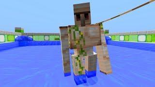 Vollautomatische Minecraft Eisenfarm / Eisengolemfarm! - Minecraft Tutorial