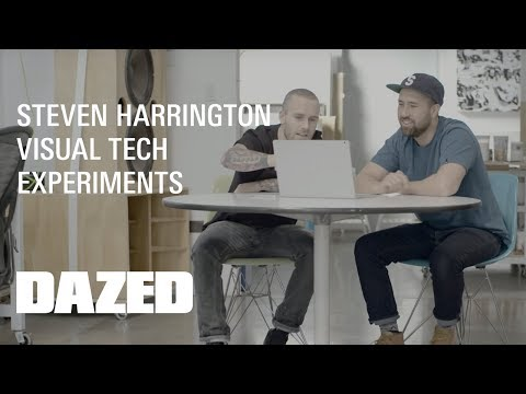 Steven Harrington + Microsoft Surface Experiments: Work In Progress